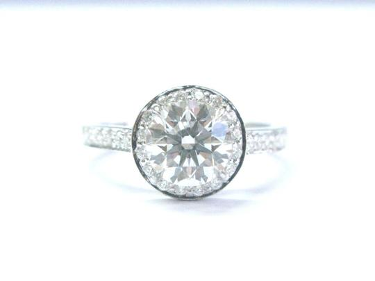 Tiffany & Co. Tiffany & Co Platinum 1.23ct GVVS2 +.22ct Accent Diamond EMBRACE Engag Image 1