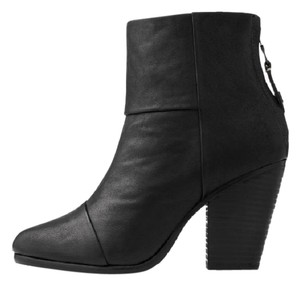 Rag & Bone Leather Black Boots