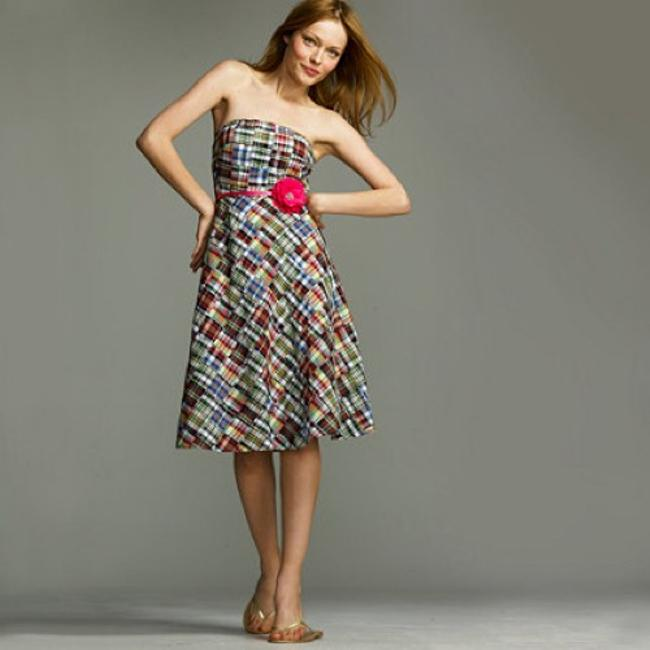 J.Crew short dress multi on Tradesy Image 1