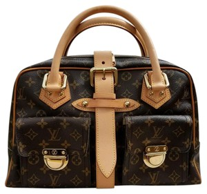 Louis Vuitton Satchel in Canvas Brown
