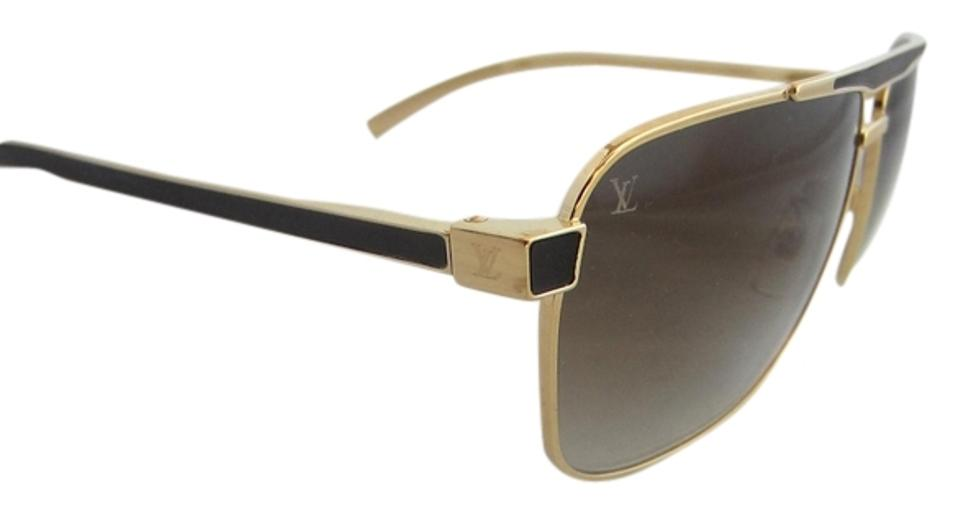 d890e843cc Louis Vuitton Gold Persuasion Carre Moka Z0549u Sunglasses - Tradesy