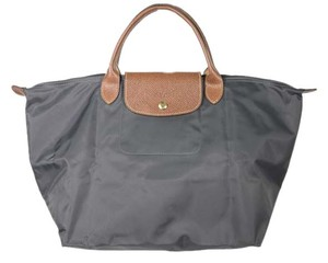 Longchamp Tote in Blue Gray