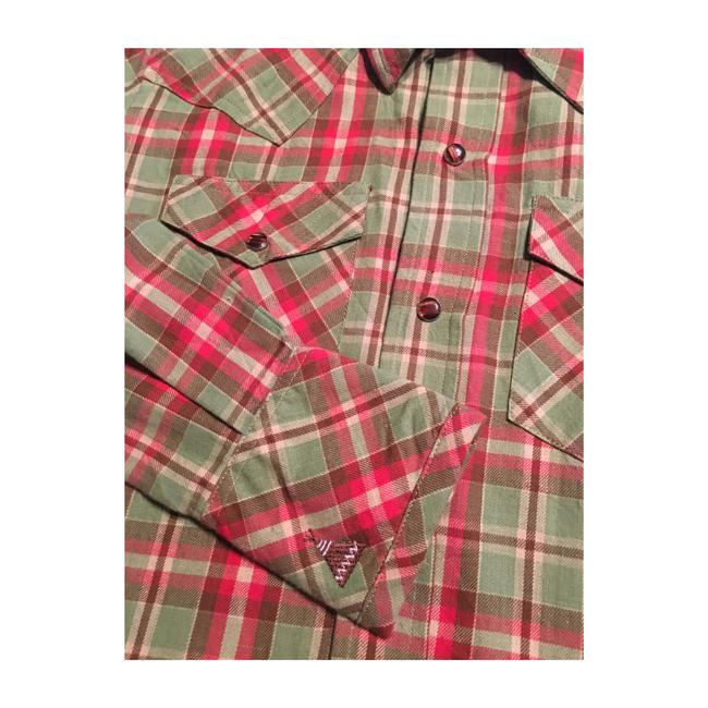 Tasha Polizzi Button Down Shirt Plaid Image 3