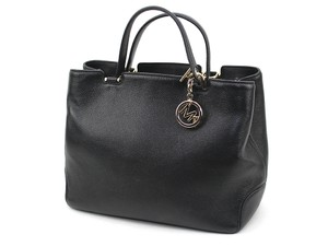 Michael Kors Anabelle Leather Satchel in Black