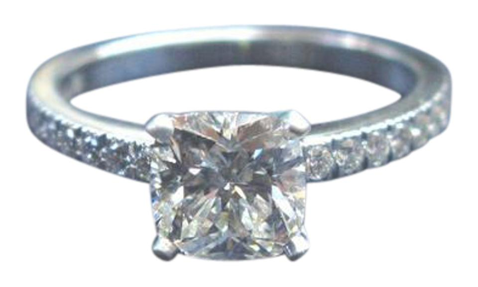 c2cc6d761f7bc Tiffany & Co. F-g Co Platinum Novo Diamond Engagement G-vvs2 1.22ct+.16ct  Ring 24% off retail
