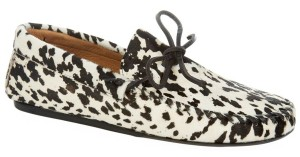 Isabel Marant Pony Hair Moccasin Trendy Flats
