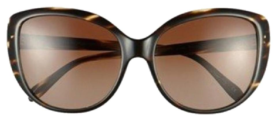 4818aca87b Oliver Peoples Brown Cat Eye Tortoise Polarized Sunglasses - Tradesy