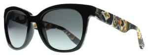 MCQ by Alexander McQueen Alexander McQueen square plastic sunglasses with marble details