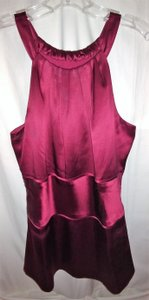 Ann Taylor 10 Medium Top Burgundy