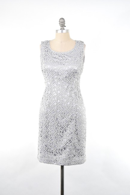 Preload https://img-static.tradesy.com/item/20933330/jones-new-york-silver-embroidered-short-cocktail-dress-size-4-s-0-0-650-650.jpg
