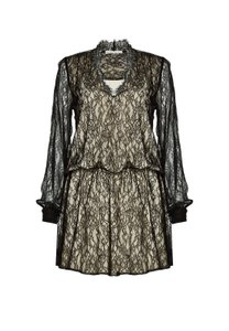 Alice + Olivia Shift Lace Drop Waist Dress