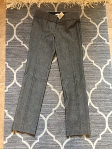Ann Taylor LOFT Petite Short Juniors Nwt Office Straight Pants Grey