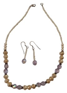 Other Beaded Necklace and Earrings Set
