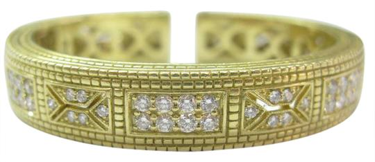 Preload https://img-static.tradesy.com/item/20933474/judith-ripka-yellow-gold-18kt-diamond-cuff-248ct-bracelet-0-1-540-540.jpg