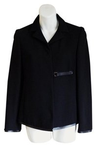 Prada Made In Italy Wool Black Blazer