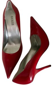 Guess By Marciano Red Patent Pumps