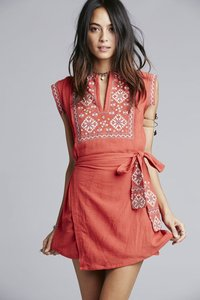 Free People short dress Papaya on Tradesy