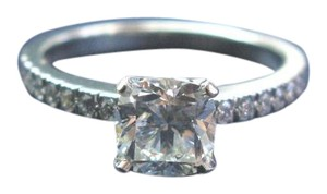 Tiffany & Co. Tiffany & Co Platinum Novo Diamond Engagement Ring I-VVS1 1.23CT