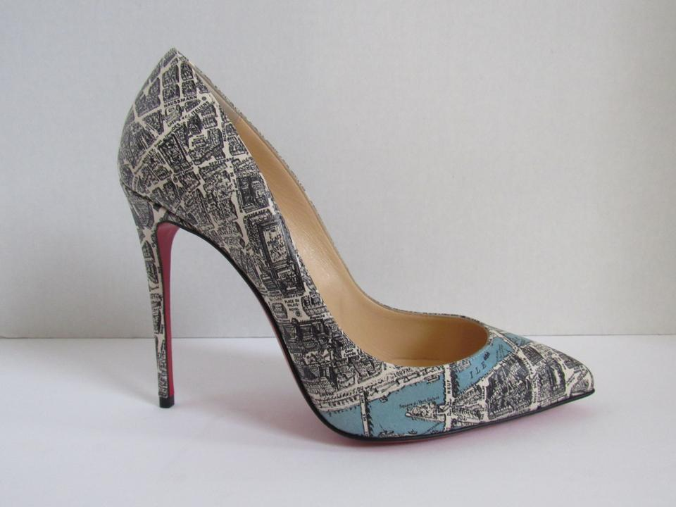 89d5182ea6b Christian Louboutin Multicolor Pigalle Follies 100 Plan De Paris 38.5 Pumps  Size US 8.5 Narrow (Aa, N) 27% off retail