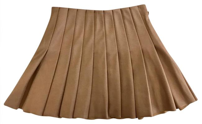 Forever 21 Mini Skirt Tan