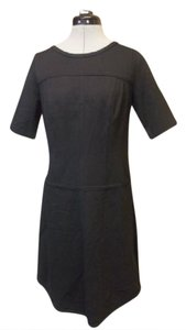 Ann Taylor Stretchy Seamed Short Sleeve Dress