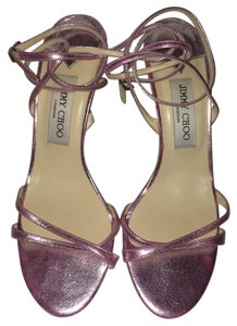 Jimmy Choo Pink metallic Sandals
