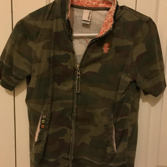 Billabong Short Sleeve Zip Up Camo Jacket Image 5