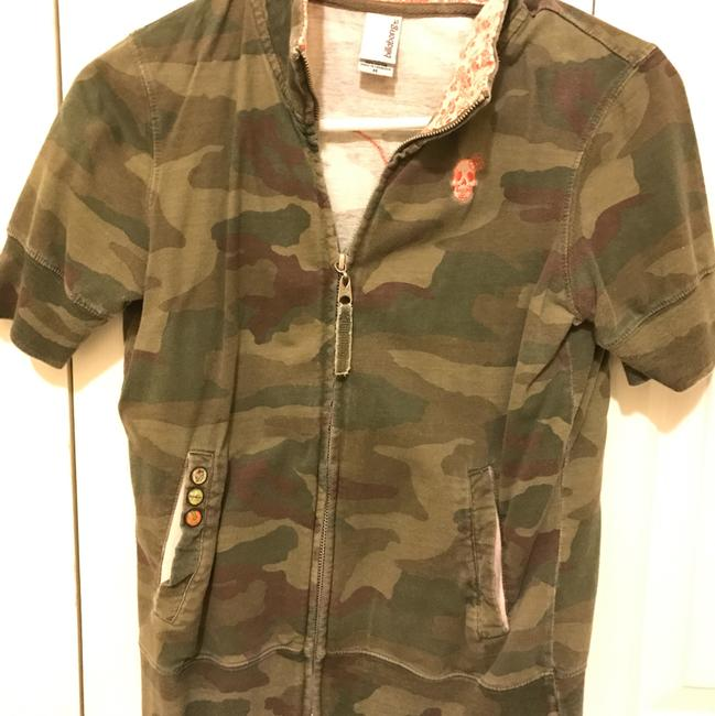 Billabong Short Sleeve Zip Up Camo Jacket Image 6