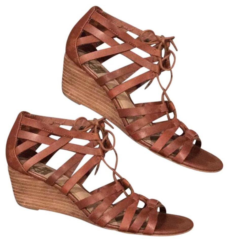c190611f5aaa Crown Vintage Strappy Wedge Sandals Size US 8.5 Regular (M