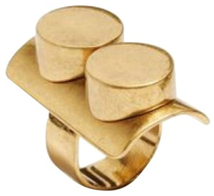 Tory Burch NWT Double-Circle Statement Ring