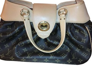 Louis Vuitton Leather Monogram Rare Design Baguette