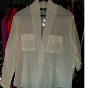 Alloy Apparel Top Ivory