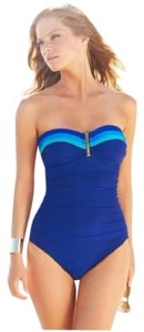 La Blanca Color-Block Bandeau