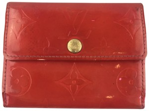Louis Vuitton Ludlow Monogram Vernis Leather Slim Card Wallet