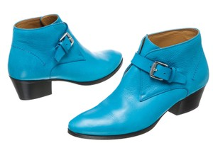 Barbara Bui Turquoise Blue Boots