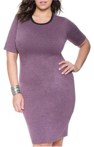 The Limited short dress Heather purple on Tradesy