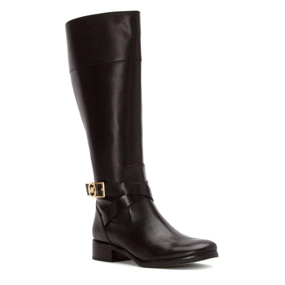 michael kors bryce black boots on sale 45 off boots booties on sale. Black Bedroom Furniture Sets. Home Design Ideas