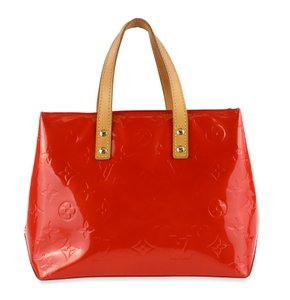 Louis Vuitton Vintage Satchel in Red