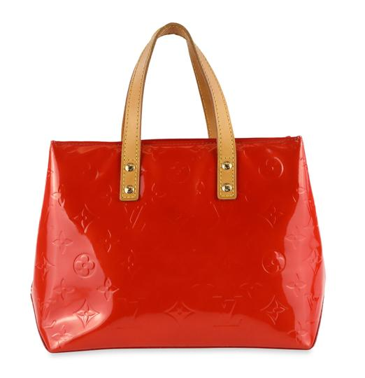 Preload https://img-static.tradesy.com/item/20934656/louis-vuitton-reade-pm-red-monogram-vernis-leather-satchel-0-1-540-540.jpg