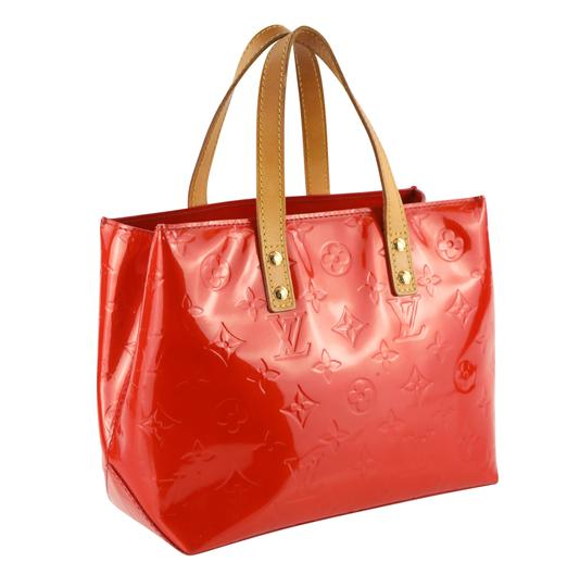 Louis Vuitton Vintage Satchel in Red Image 1