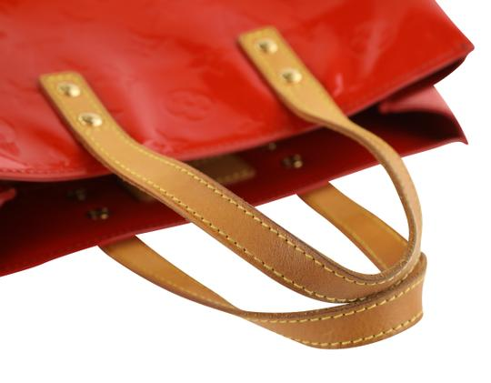 Louis Vuitton Vintage Satchel in Red Image 10