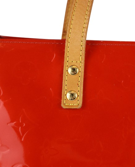 Louis Vuitton Vintage Satchel in Red Image 6