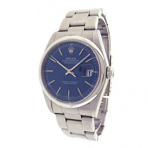 Rolex Rolex Datejust 16200 Stainless Steel Oyster Automatic Blue Men's Watch