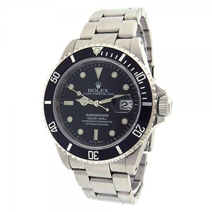 Rolex Rolex Submariner 16610 Stainless Steel Automatic Black Men's Watch K