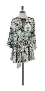 Rory Beca short dress Multi Color Floral Print Silk Shift on Tradesy