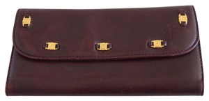 Etienne Aigner tri-fold leather