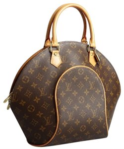 Louis Vuitton Lv Ellipse Vuitton Ellipse Vuitton Elipse Mm Ellipse Mm Brown Ellipse Satchel in Monogram