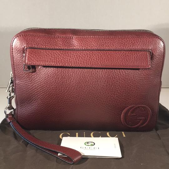 Gucci Wristlet in red