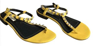 Balenciaga yellow Sandals