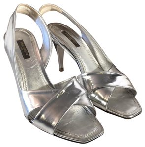 Louis Vuitton Silver Sandals